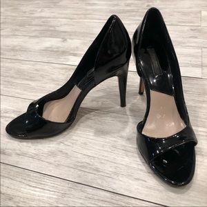 🔥 Zara open toe heels 👠